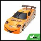 LED Orange Radio Racing Kid Remote Control Toy Car
