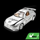 Remote Control RC Radio Super Speed LED Racing Kid Sports Car Toy Silver