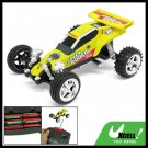 RC Remote Control Yellow Kart Racing Car Speed Racer Toy
