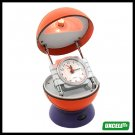 Novelty Desk Lamp & Clock  (NO.2245B) - Red basketball