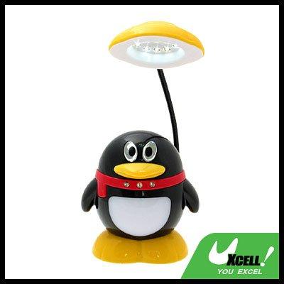 8 LED Novelty Penguin Desk Light Pivot Lamp