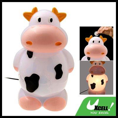 Desk Reading Lamp Cartoon Cow Piggy Bank Home Decor