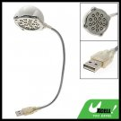 16 LED Flexible USB Notebook Laptop Reading Lamp Light