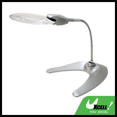 New Flexible LED Magnifier Light Magnifying Desk Lamp