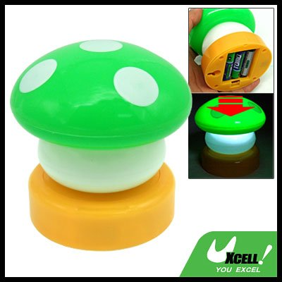 Mini Mushroom Desktop Touch Night Light Bedside Lamp