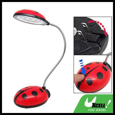 Ladybird 13 Rechargeable LED Gooseneck Desk Lamp (220V)