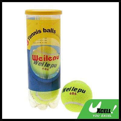 Three Sports Tennis Balls for Training