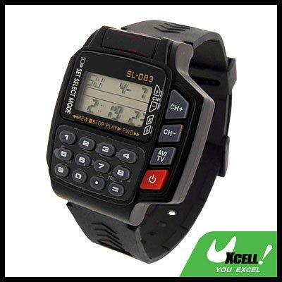 TV / VCR / DVD Remote Control w/ Calculator Digital Wrist Watch