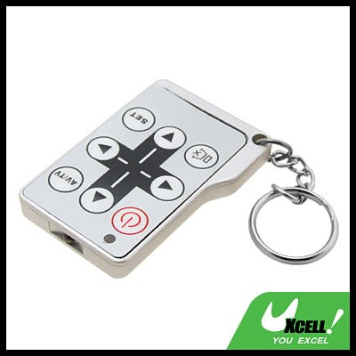 Mini Universal TV Remote Control with Key Chain
