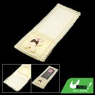 Bear Cotton Cloth Small TV Remote Control Cover for Home Use