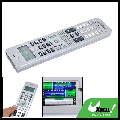 Universal 10 in 1 LCD Remote Control for TV VCR DVD CD