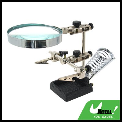 Magnifier Magnifying Glass with Soldering Stand