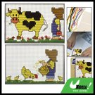 Cattle Child Pattern Counted Cross Stitch Cross-Stitch Kit