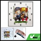 First Pure Love Clock Counted Cross Stitch Embroidery Kit