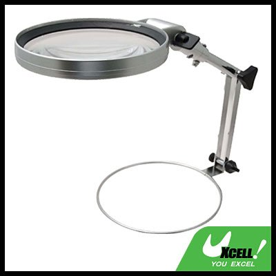 2X Folding Magnifying Light LED Magnifier Lamp