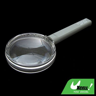 3X Hand Held Magnifying Glass Reading Magnifier