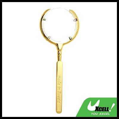 Golden 3X Magnifying Glass Magnifier for Reading