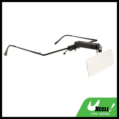 LED Light with Reading Lens Magnifying Glass Magnifier Tool