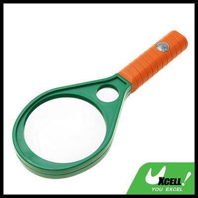 4X 6X Hand Held Magnifying Glass Mineral Reading Magnifier 62mm