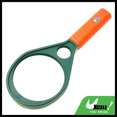 4X 6X Mineral Magnifying Glass Reading Hand Held Magnifier 72mm