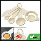Kitchen Plastic Measuring Spoons Egg Separator Leveling Knife Set