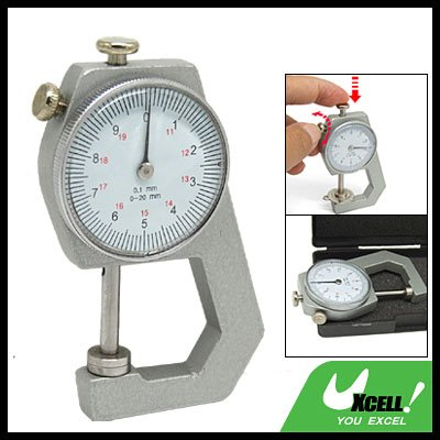 Pocket Thickness Measurement Gauge Gage Tool 0 to 20mm