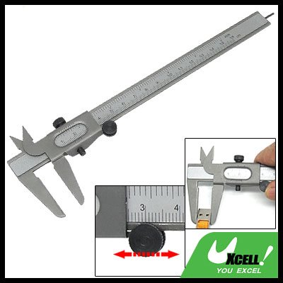 5 Inch Dual Scale Metal Vernier Caliper Measuring Tool