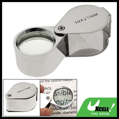 10x 21mm Magnifier Jewelers Jewelry Magnifying Loupe