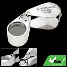 20 x 21mm LED Illuminated Eye Magnifier Glass Jeweler Loupe