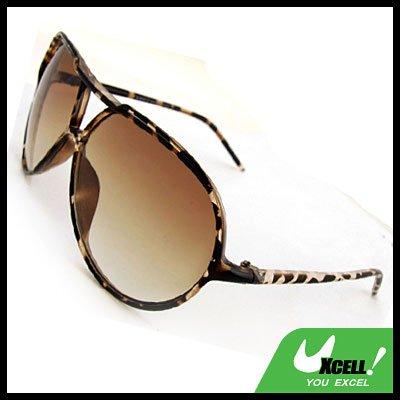 Classic Aviator Brown Fashion Eyewear Sunglasses