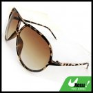 Classic Aviator Brown Fashion Eyewear Sunglasses