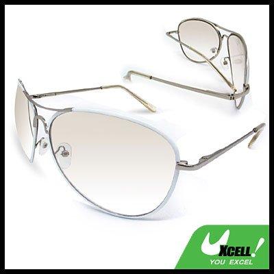 Aviator Smoke Lens Metal Frame Unisex Fashion Sunglasses