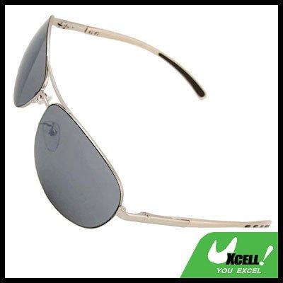 Cool Metal Frame Men Eyeglasses Aviator Sunglasses