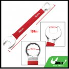 16MM Metric Soft Grip Open Box End Combination Wrench Tool