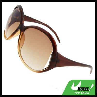 Ladies Fashion Amber Lens Sports Sunglasses