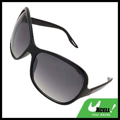 Black Frame Unisex Eyewear Ladies Men Sports Sunglasses