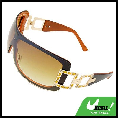Mens Boy's Cool Brown Lens Sports Sunglasses
