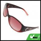 Stylish Heart Girls Womans Pink Sports Sunglasses