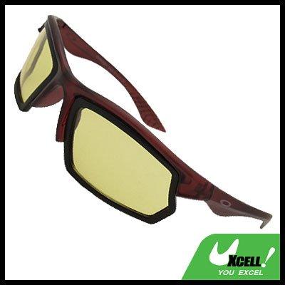 Wine Frame Polarized Night Vision Sports Surfing Sunglasses