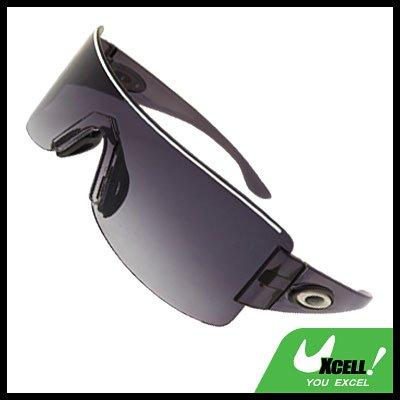 Rimless Dark Lens Children's Boy's Sports Sunglasses Black
