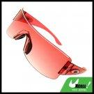 Rimless Red Lens Gilr  Children Sports Sunglasses