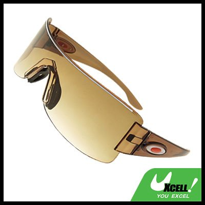 Rimless Brown Lens Children's Boy's Sports Sunglasses