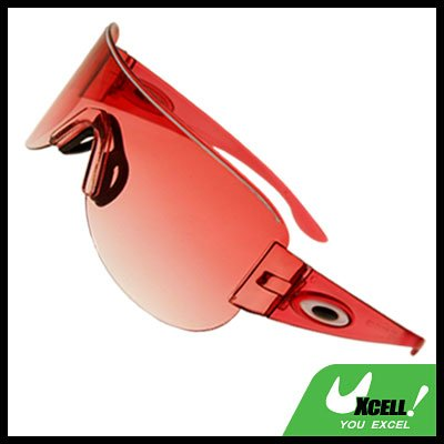 Rimless Red Lens Children Girl Sports Sunglasses
