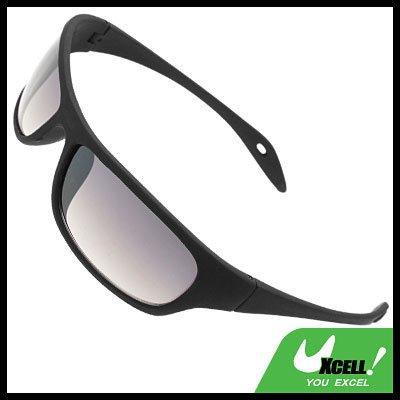 Fashion Lady's Black Frame Sports Shopping Sun Sunglasses