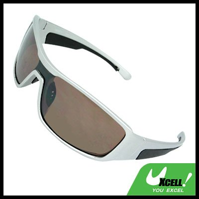 Fashion Transparent Brown Lens Adult Sports Sunglasses