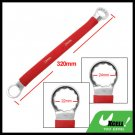 12 Point Box End 22mm 24mm Double Side Red Soft Grip Offset Wrench Tool