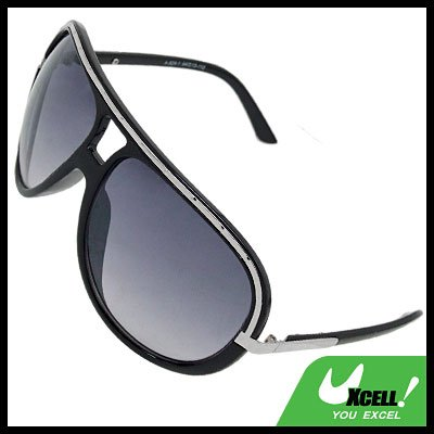 Big Lens Black Frame Ladies' Special Sports Sunglasses