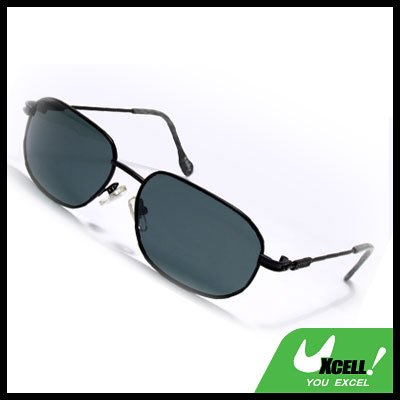 Polarized Sports Sunglasses w/ Marble Pattern Tip Cover