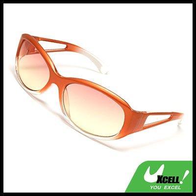 Trendy Plastic Frame Ladies Sports Eyewear Sunglasses