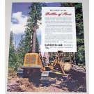 1945 Caterpillar Diesel Bulldozer Color Print Ad - Battles Of Peace